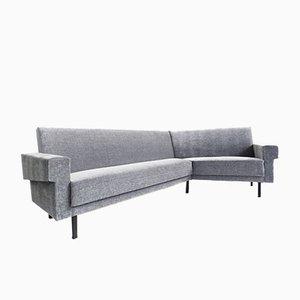 Canapé d'Angle Gris Vintage