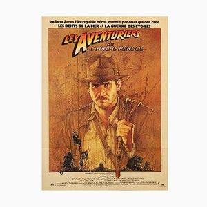 """Poster del film """"I predatori dell'arca perduta"""" di Richard Amsel, Francia, 1981"""