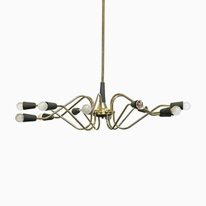 Vintage Italian Chandelier from Stilnovo