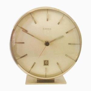 Horloge de Table Mid-Century Everdate en Chrome de Kienzle