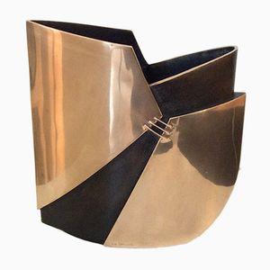 Bronze Vase by Esa Fedrigolli, 1970s