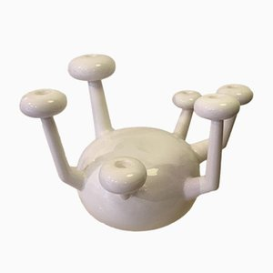 Atomo Keramik Kerzenständer von Jaime Hayon für Bosa, 2000