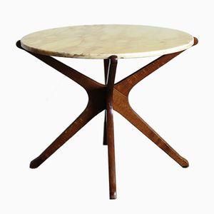 Vintage Italian Marble Coffee Table, 1950s