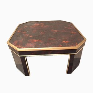 French Coffee Table by Jean-Claude Mahey, 1970s