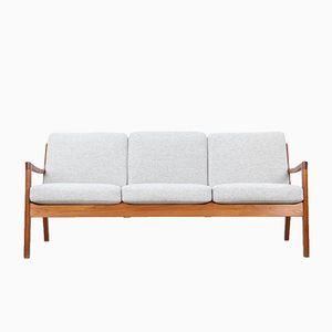 Vintage Teak Sofa von Ole Wanscher für France & Søn