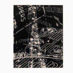 Héliogravure par Man Ray pour Compagnie Parisienne de Distribution d'Electricité, 1931