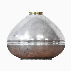 Funkis Zinn Vase von GAB, 1937