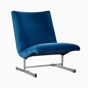 Slipper Chair by Milo Baughman for Thayer Coggin, 1970s