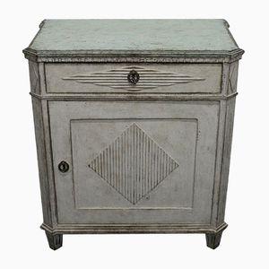 Antique Gustavian Bedside Cabinet