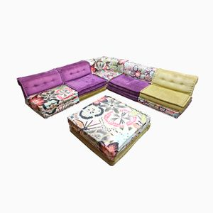 Mah Jong Modular Sofa and Ottoman