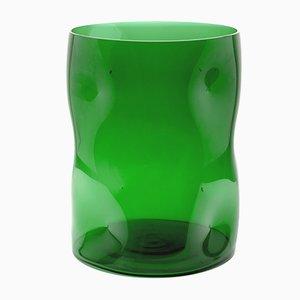 Große Grüne Bugnato Vase von Eligo