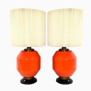 Lampes de Bureau par Stilnovo, 1950s, Set de 2