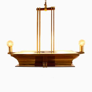 Art Deco Chandelier by Henri Petitot
