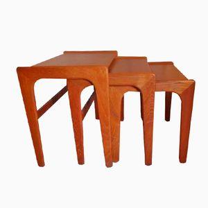 Tables Gigognes par Salin Mobler, 1960s
