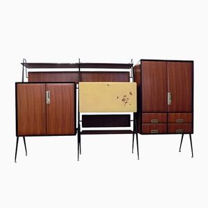 Italian Wall Unit by Silvio Cavatorta, 1957