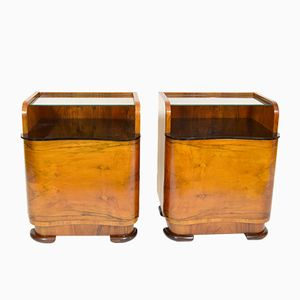 Tables de Chevet Vintage, Set de 2