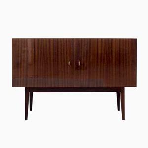 Two-Door Mahogany Dresser, 1960s