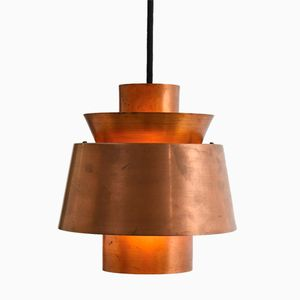 Tivoli Copper Pendant by Jørn Utzon for Nordisk Solar, 1950s