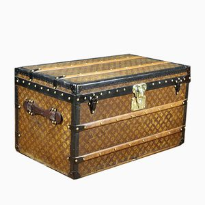 Antique Stenciled Monogram Trunk from Louis Vuitton