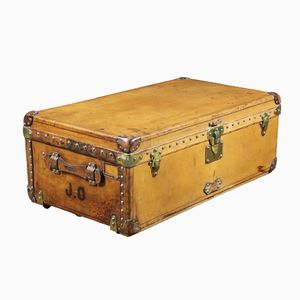 Leather Cabin Trunk from Louis Vuitton, 1910s