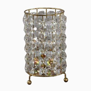 Crystal Glass Table Lamp from Bakalowits & Sohne, 1950