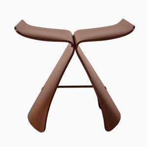 Vintage Butterfly Stool by Sori Yanagi for Tendo