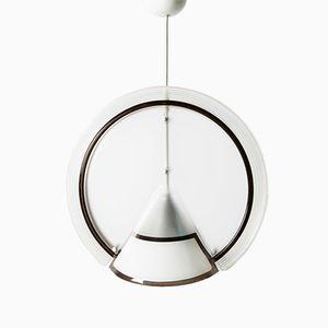 Lucite Pendant Lamp, 1980s