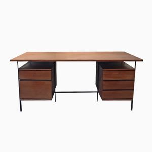 Vintage Desk by Guariche, Mortier and Motte for Minvielle