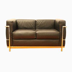 LC2 Sofa by Le Corbusier for Alivar, 1989