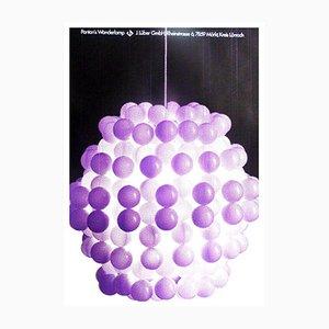 Vintage Wonderlamp Poster from Lüber, 1970s