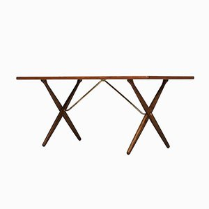 Model AT-303 Dining Table by Hans Wegner for Andreas Tuck, 1950s