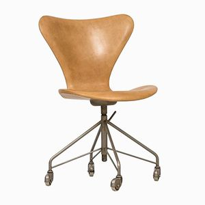 Model 3117 Office Chair by Arne Jacobsen for Fritz Hansen, 1950s