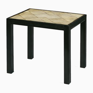 Small Table with Galuchat Top by Pierre Legrain, 1920s
