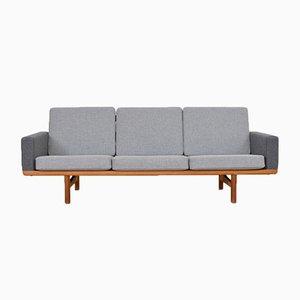 Vintage GE 236 Drei-Sitzer Sofa von Hans J. Wegner für Getama