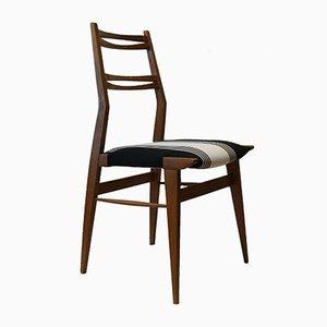 Italienischer Eschenholz Stuhl, 1950er