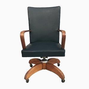 Italian Desk Swivel Chair from Mobili Riva, 1960s