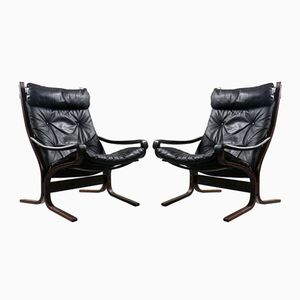 Siesta Chairs by Ingmar Relling for Westnofa, 1970s, Set of 2