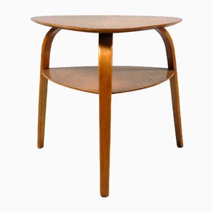 Bow Wood Coffee Table from Steiner, 1950s