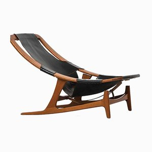 Model Holmenkollen Lounge Chair by Arne Tidemand-Ruud for Norcraft, 1960s