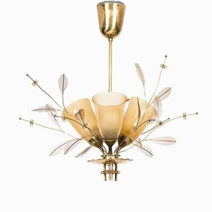 Vintage Model 9029 Ceiling Lamp by Paavo Tynell for Taito