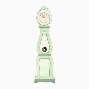 Grüne Schwedische Vintage Uhr