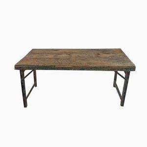French Vintage Foldable Table