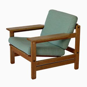 Danish Oak Armchair by Aksel Dahl for KP Mobler, 1960s