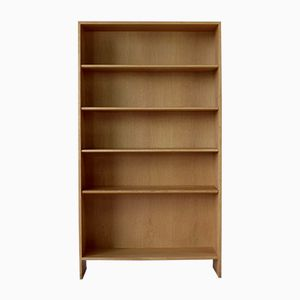 Danish Oak Bookcase by Hans J. Wegner for Ry Mobler, 1970s