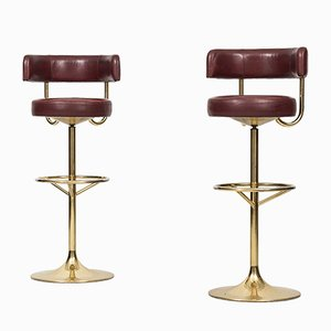 High Bar Stools from Börje Johansson, 1960s, Set of 2