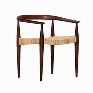Mid-Century Model 113 Armchair by Nanna Ditzel for Poul Kolds