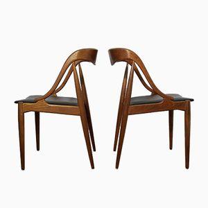 Dining Chairs by Johannes Andersen for Uldum Mobelfabrik, Set of 2