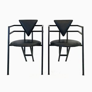 Druillet Armchairs by Jean Allemand, 1987, Set of 2