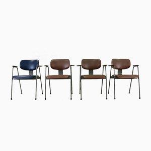 F1 Stühle von Willy van der Meeren für Tubax, 4er Set