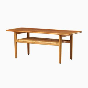 AT-10 Oak Coffee Table by Hans Wegner for Andreas Tuck, 1959